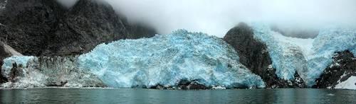 tající ledovec - Kenai National Park