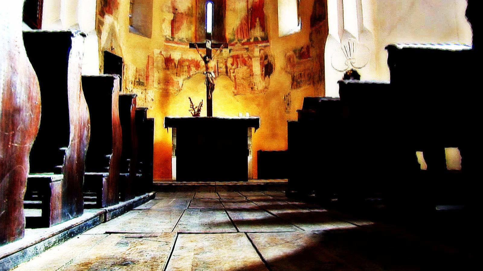 chaberský kostel