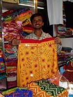 typický ženský oděv v Rádžasthánu