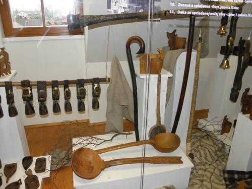 Liptov - zvonce a nadobi