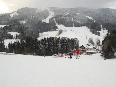 časť lyžiarskeho strediska Annaberg