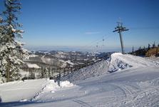 ďalšia časť lyžiarskeho strediska Annaberg
