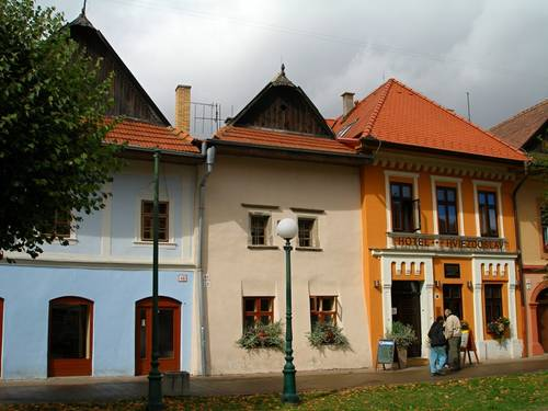 Kežmarok – historické centrum