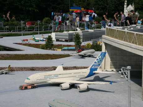 Legoland letadlo