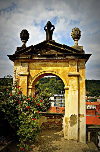 Děčín - Ružová záhrada