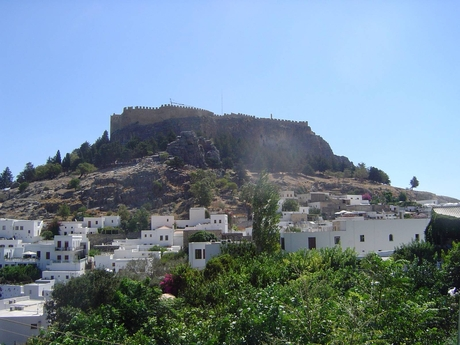 Lindos, Akropole