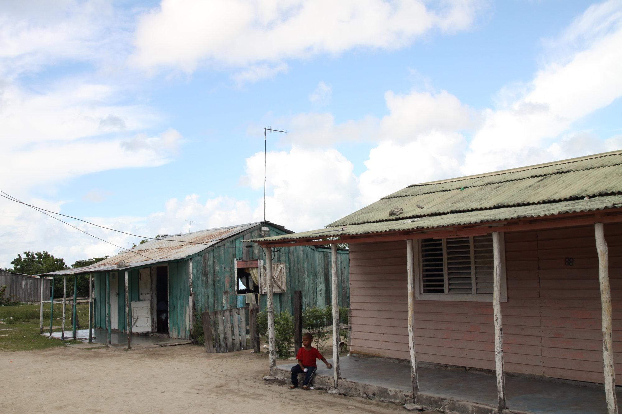 деревня на Саоне