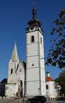 Písek - kostel Narozeni Panny Marie