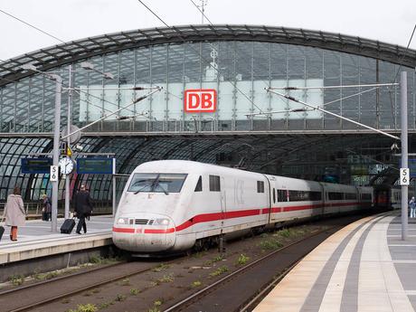 nádraží v Berlíně