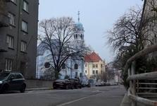 Modrý kostolík