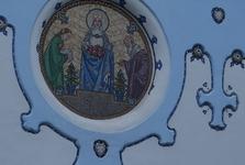 sv. Allžběta s náručí růží