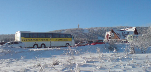 CITY SKI BUS Klínovec