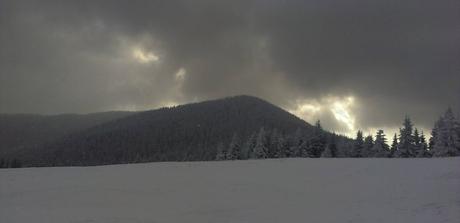 Oravská Magura v zime