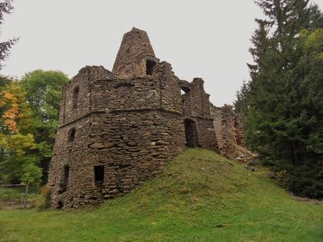 ruiny vápenky Háj