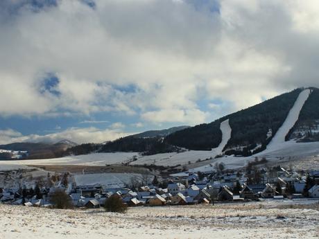 lyžařské středisko v obci Čičmany