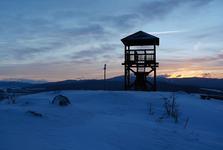 rozhledna na vrchu Hájnice