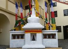 bhútánská buddhistická stavba