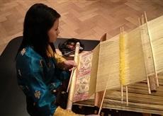 tradiční způsob tkaní