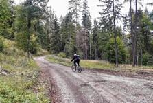 Kláštorisko, Slovenský raj (cyklotrasa)
