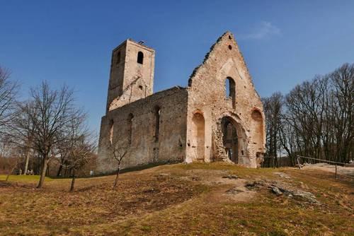 kostel a klášter svaté Kateřiny Alexandrijské, Dechtice