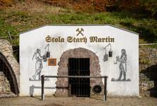 prohlídková štola Starý Martin
