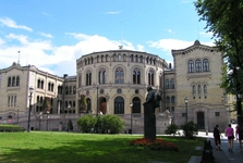 Oslo, norský parlament
