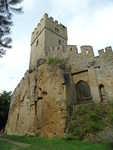 Helfenburk, věž a vstupní portál