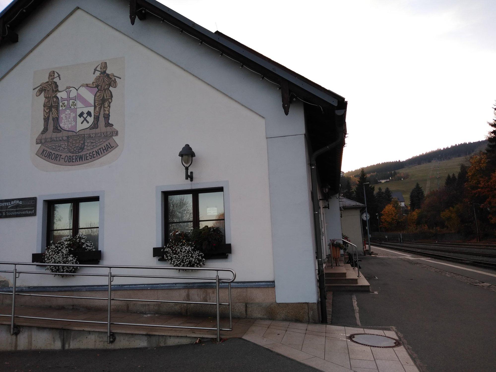 nádraží Oberwiesenthal