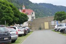parkoviště v obci Schmilka