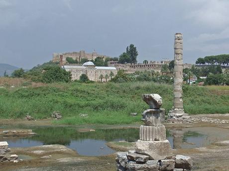 zbytky Artemidina chrámu