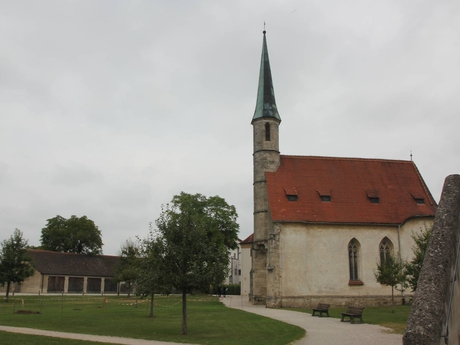 Burghausen – kostel