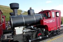 локомотив – зубчатая железная дорога