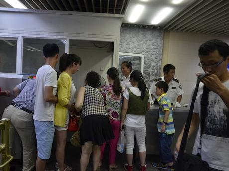 по пути на Великую китайскую стену