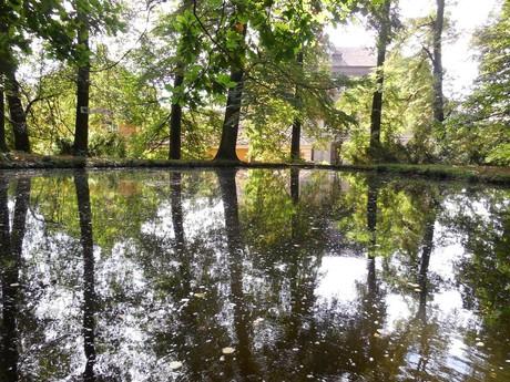 замок Раец-над-Свитавой  – пруд