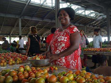 Šalamounovy ostrovy – trh