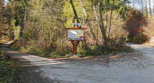 the nature trail Ferata Horske Zachranne Sluzby
