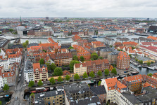Kodaň z ptačí perspektivy