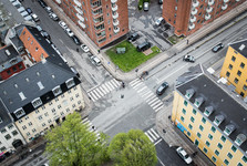 bird's eye view of Copenhagen