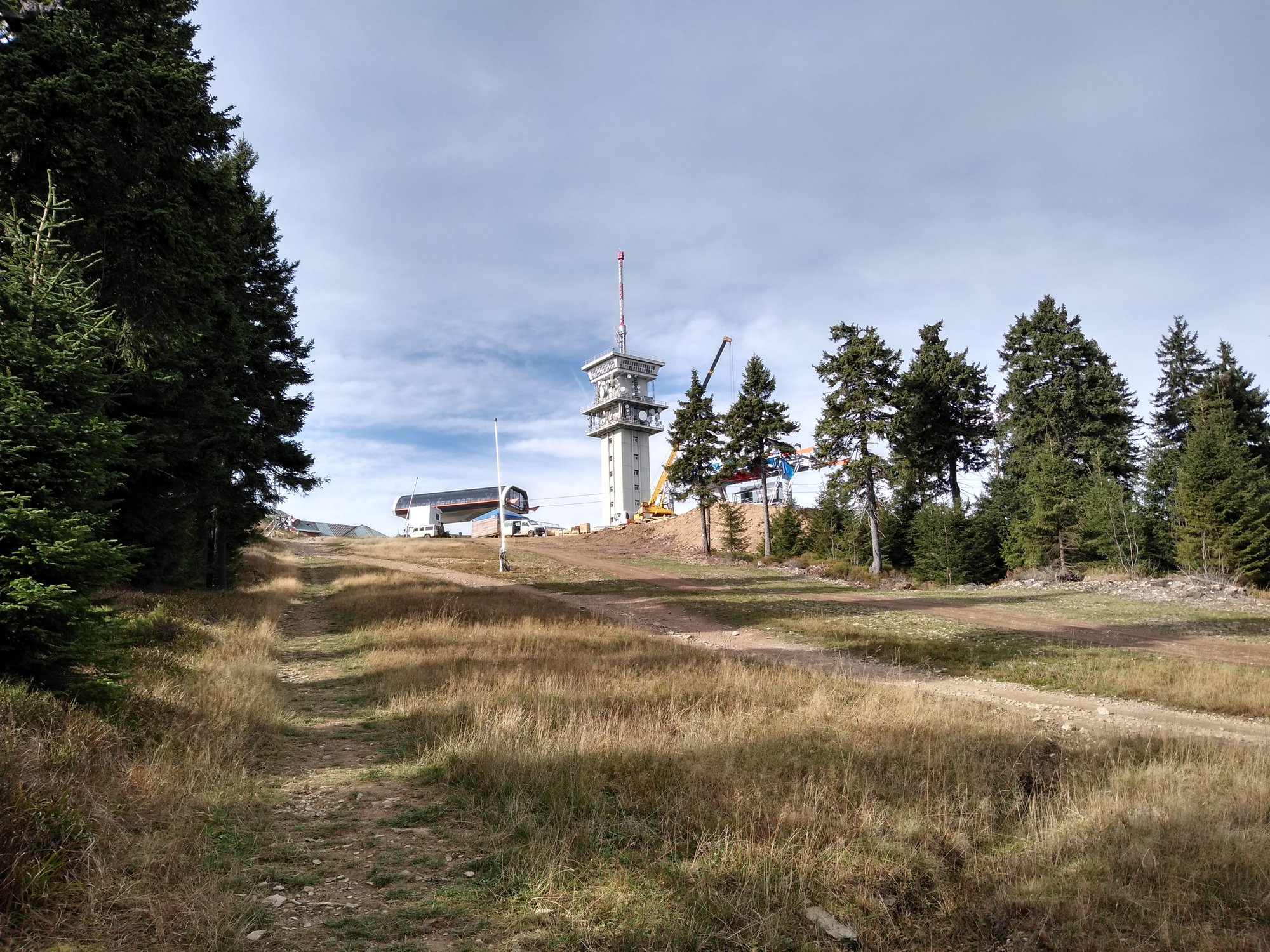 cestou na vrchol Klínovca