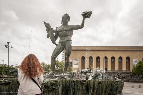 Carlo Milles' Poseidon Fountain
