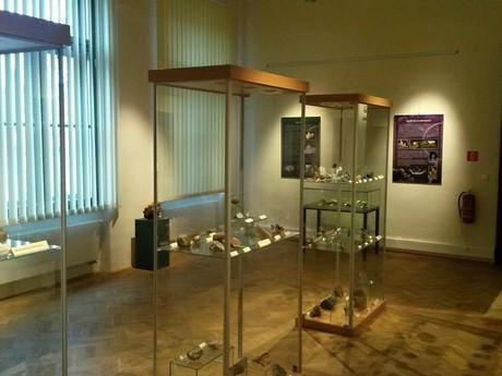 Východoslovenské muzeum - výstava minerálů