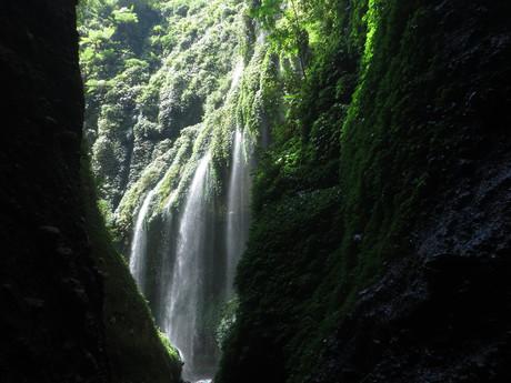 vodopády Madakaripura jsou další přírodní krásou v blízkém okolí známé sopky Bromo