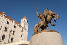 Prince Svatopluk equestrian statue