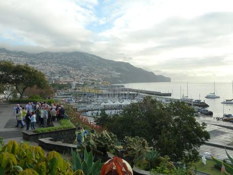 Madeira, přístav Funchal