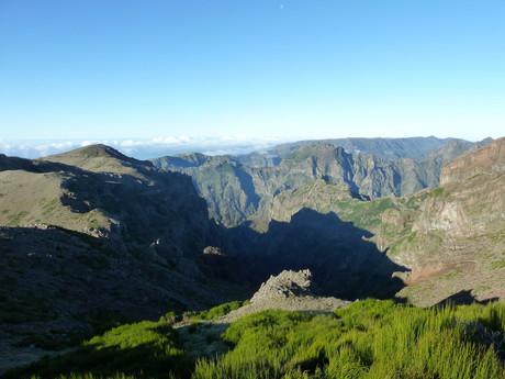Madeira, hory