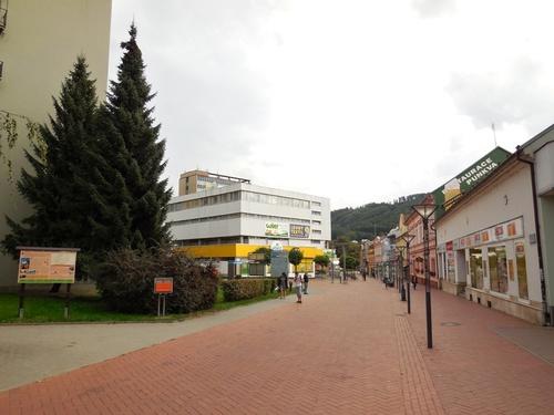 Blansko – pedestrian zone