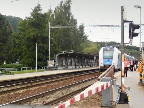 Blansko - vlakové nástupiště