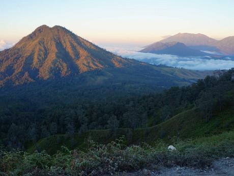 East Java landscape