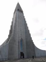 kostel Hallgrímskirkja v Reykjavíku