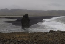 black volcanic sand of the south – Dyrhólaey